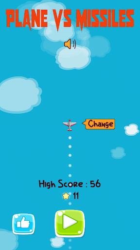 Plane escape missile - Attack missiles screenshot 1
