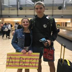welcome albert