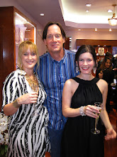 """Photo: Photo l-r: Kelly (writer), Kevin Sorbo (Hercules) and Lauren Maher (Pirates of the Caribbean) wearing earrings and cuff by House of Taylor.  Photo credit: Popular Press Media Group (PPMG)  Dame Elizabeth Taylor's """"House of Taylor"""" opens in Beverly Hills on Dec 12, 2009."""