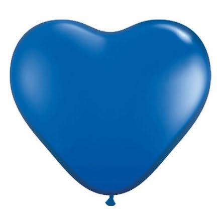 Ballonghjärtan -Blå