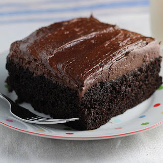 Simple Chocolate Cake.
