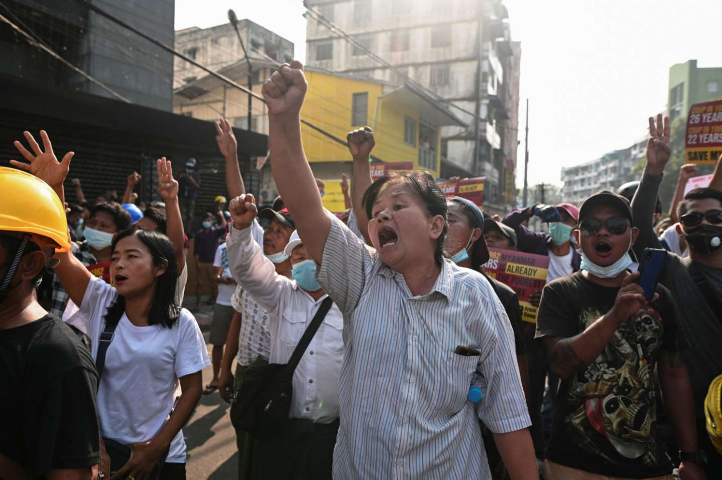Three-finger salute: Hunger Games symbol adopted by Myanmar protesters. (2021). The Guardian. https://www.theguardian.com/world/2021/feb/08/three-finger-salute-hunger-games-symbol-adopted-by-myanmars-protesters