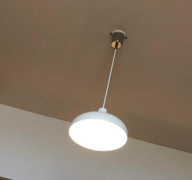 ルイスポールセンPH5通常の照明