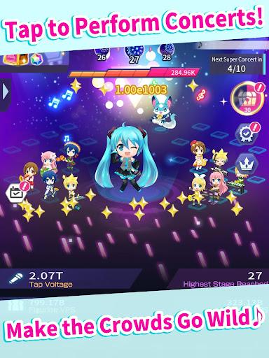 Hatsune Miku - Tap Wonder 1.0.1 screenshots 8