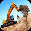 Excavator Training 2020 | Heavy Construction Sim icon