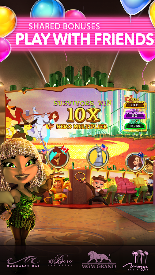 POP! Slots - Kostenlose Vegas Casino Spielautomaten Spiele android apps download