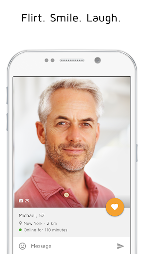 Dating for 50 plus Mature Singles – FINALLY app (apk) free download for Android/PC/Windows screenshot