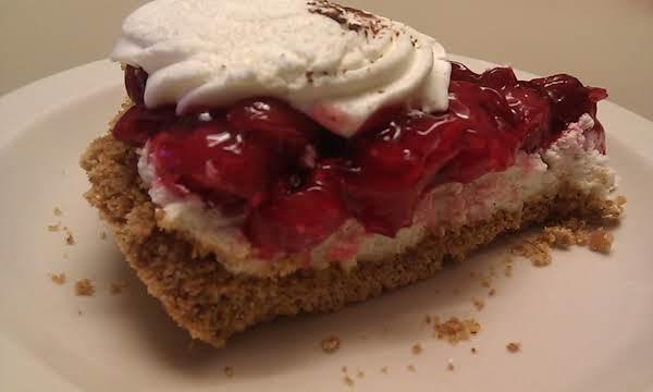 Cherry Cheesecake With A Graham Cracker Crust Recipe