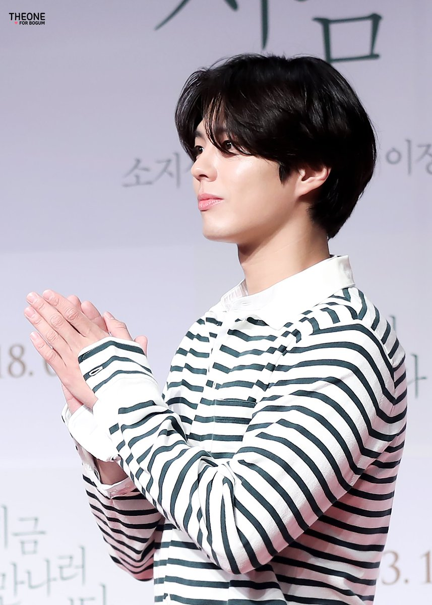 park bo gum march hair