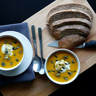 Warming Carrot and Red Lentil Soup