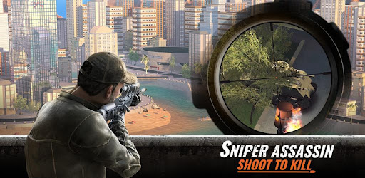 Best FREE 3D FPS shooting game. Fight on or offline, shoot hitman & save the day