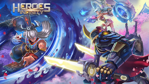 Télécharger Heroes Infinity: RPG + Auto Chess + God + strategy  APK MOD (Astuce) screenshots 6