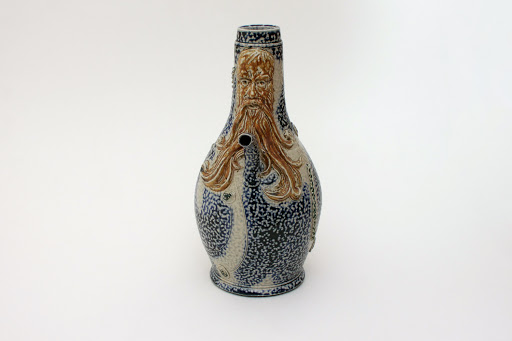 Peter Meanley Large Ceramic Bellarmine Jug