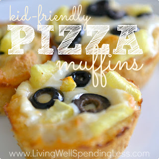 Kid Friendly Pizza Muffins Recipe