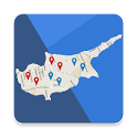 Cyprus Map icon
