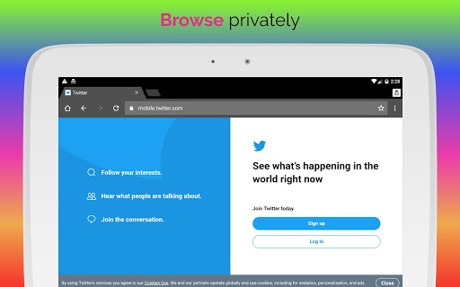 UPX Unblock Websites Proxy Browser - Private, Fast 81.0.4044.117 screenshots 8