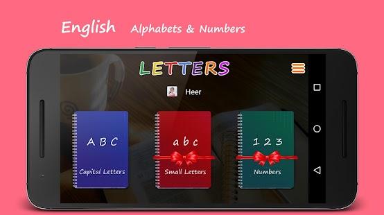 LETTERS Write English ABC 123 - náhled
