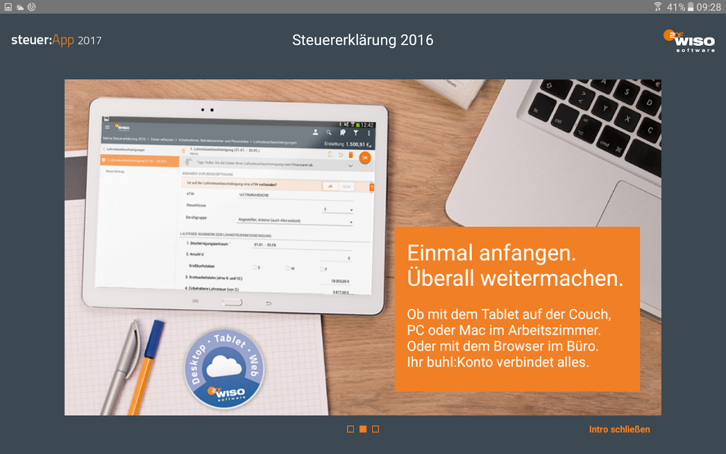 WISO steuer:App 2017 - Android Apps on Google Play