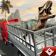 Angry Dino Zoo Transport Truck icon
