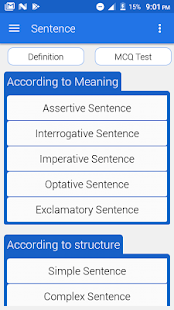 Parts of Speech with Exercise – Apps bei Google Play