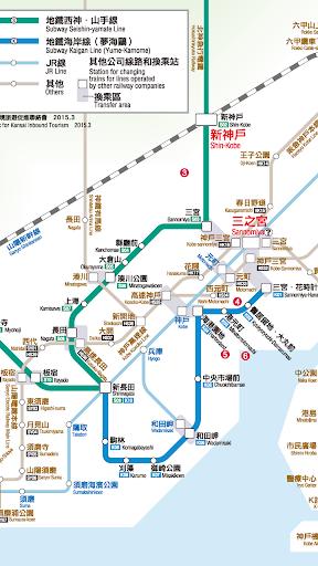 神戶地鐵路線圖