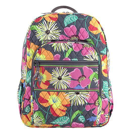 Campus Backpack in Jazzy Blooms