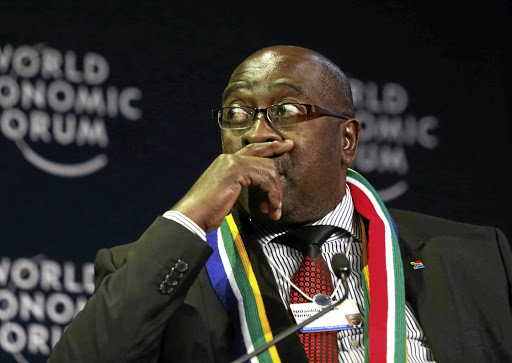 Former finance minister Nhlanhla Nene: 'This is completely unacceptable'.