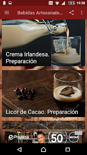 Bebidas Artesanales Screenshot