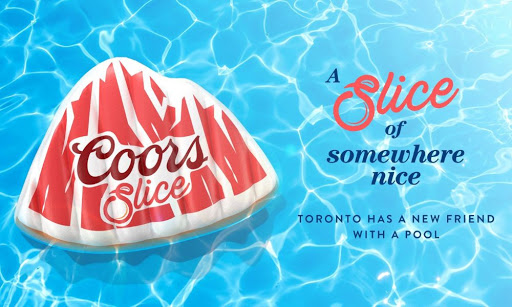 Soak Up The Summer Poolside With Coors Slice In Toronto