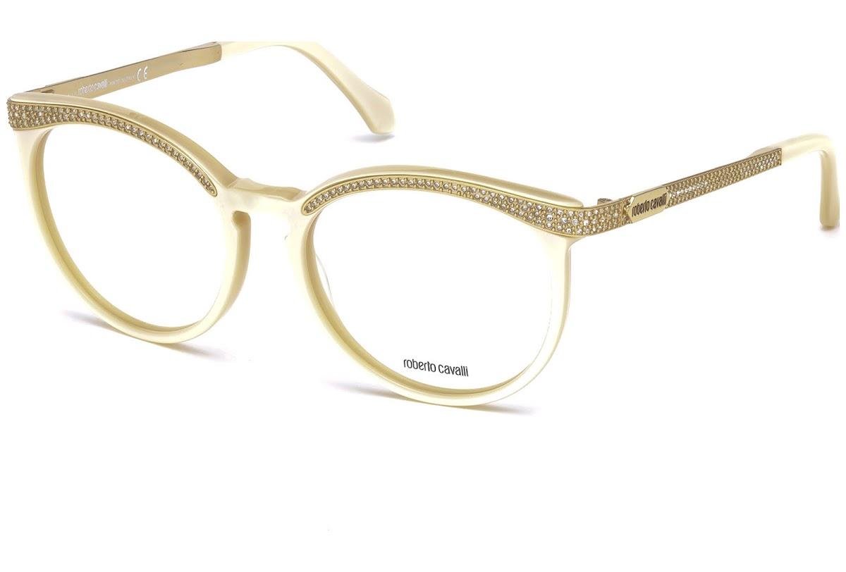 Buy Roberto Cavalli Sham RC0965 C54 025 (ivory / ) Frames | opti.fashion