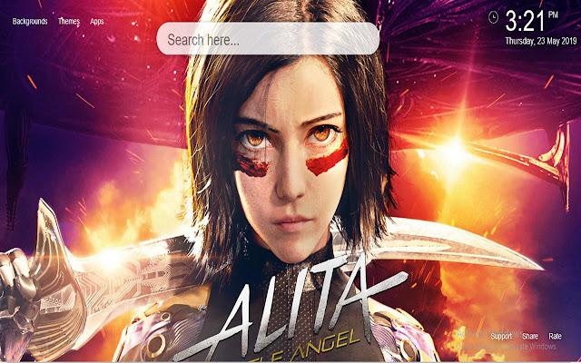 Alita Battle Angel Wallpapers HD New Tab