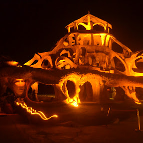 Love Passion Karma by Harshit Bansal - Buildings & Architecture Statues & Monuments ( lighting, goa, club, night, disc )