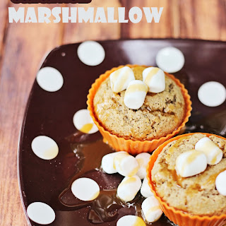 Caramel Marshmallow Muffins #IDelight @InDelight