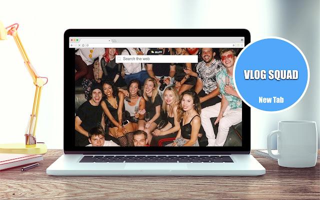 Vlog Squad Wallpapers New Tab Theme