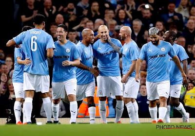 Partage amical, joueurs d'Anderlecht sur le terrain : Kompany a dit adieu à Manchester City dans la bonne humeur