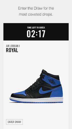 Nike SNKRS Screenshot