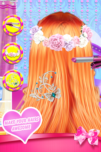 Fashion Braid Hairstyles Salon-girls games 8.7 androidappsheaven.com 2