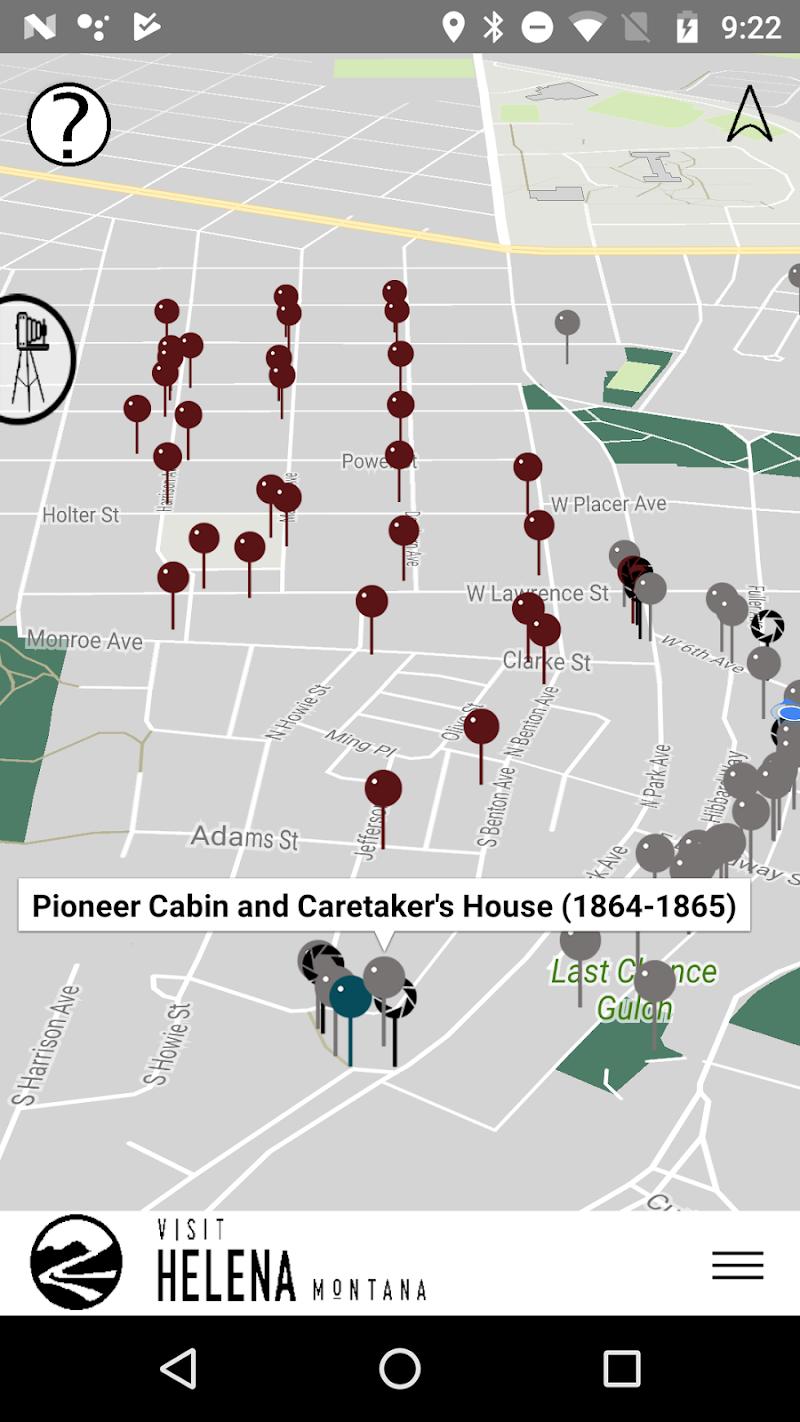 Скриншот Helena Walking Tours