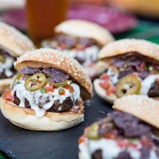 Bobby Flay's Nacho Burger.