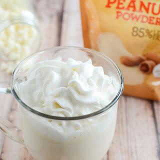 Peanut Butter White Hot Chocolate