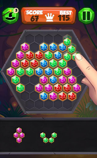 Block Hexa Puzzle (Free) 1.0 screenshots 1