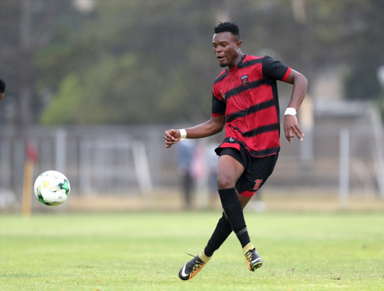Ranga Chivaviro of Ubuntu Cape Town FC, pictured here during the National First Division match against Witbank Spurs at Athlone Stadium on January 07, 2018 in Cape Town, has signed for Absa Premiership side Baroka FC.