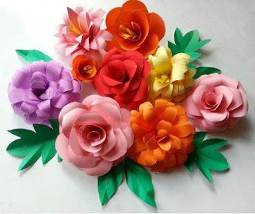 Diy simple paper flower apps on google play screenshot image mightylinksfo