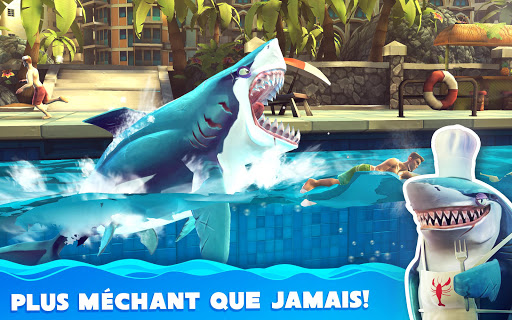 Hungry Shark World  captures d'u00e9cran 9
