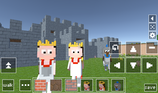 Castle Craft: Knight and Princess apkpoly screenshots 6