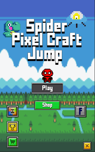 Spider Pixel Craft Jump
