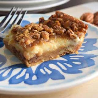 Pecan Cheesecake Squares