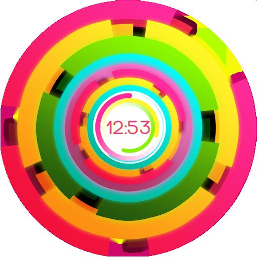 Rainbow clock PRO 個人化 App LOGO-硬是要APP