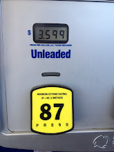 Photo: We stopped at the gas station right outside of Walmart to get some gas before we headed home. OUCH!
