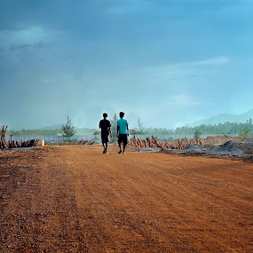 by Pablo Indra Iskandar - Landscapes Prairies, Meadows & Fields